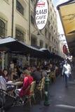 Melbourne pasy ruchu Zdjęcie Royalty Free