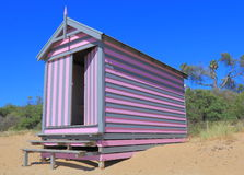 Melbourne plaży kąpania pudełko Australia Obraz Stock