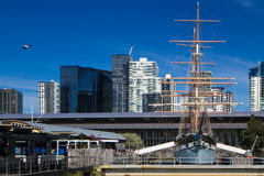 Melbourne Polly Woodside Boat Arkivbild