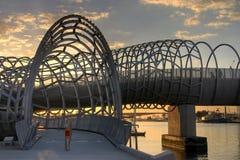Melbourne - ponticello di Webb Fotografie Stock