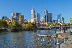 Melbourne popołudnie Zdjęcia Royalty Free