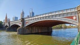 Melbourne Princes bridge Royalty Free Stock Photo