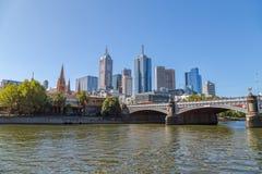 Melbourne Princes bridge Royalty Free Stock Image