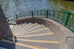 Melbourne Princes bridge stairs Royalty Free Stock Photography
