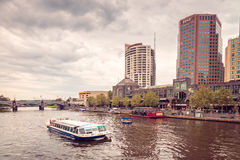 Melbourne River Cruises Royalty Free Stock Photography