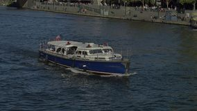 Melbourne River Cruises stock footage