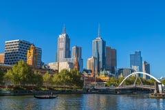 Melbourne romantic gondola ride Stock Images