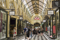 Melbourne Royal Arcade Royalty Free Stock Image
