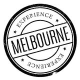 Melbourne rubber stamp Stock Photography