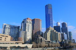 Melbourne-Süduferstadtbild Australien Lizenzfreie Stockbilder