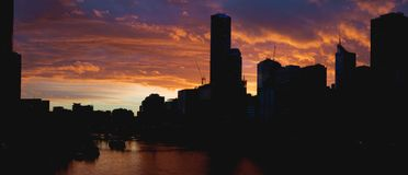 melbourne słońca zdjęcie royalty free