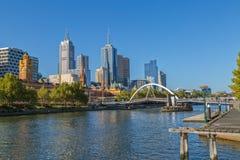 Melbourne słoneczny dzień Obrazy Stock