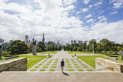 Melbourne Shrine Of Remembrance Royalty Free Stock Photos