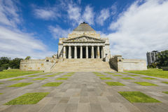 Melbourne Shrine Of Remembrance Stock Photography