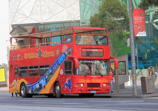 Melbourne sightseeing bus Stock Image