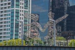 Melbourne sikt 7 Arkivfoto