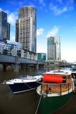 Melbourne-Skyline lizenzfreies stockfoto