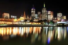 Melbourne-Skyline Lizenzfreie Stockfotografie