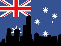 Melbourne skyline Royalty Free Stock Photo