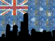 Melbourne skyline Royalty Free Stock Photography