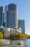 Melbourne Southbank buildings Royalty Free Stock Photography