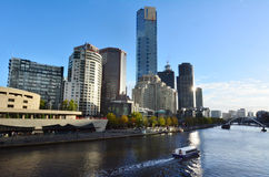 Melbourne Southbank - Victoria Royalty-vrije Stock Afbeelding