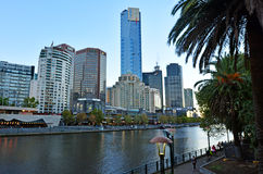 Melbourne Southbank - Victoria Stock Photography