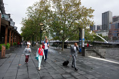 Melbourne Southbank - Victoria Royalty Free Stock Photo