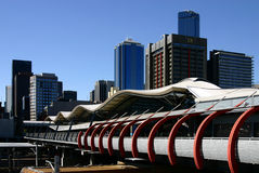 Melbourne - Southern Cross Station royalty free stock image