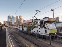 Melbourne spårvagn Royaltyfri Fotografi