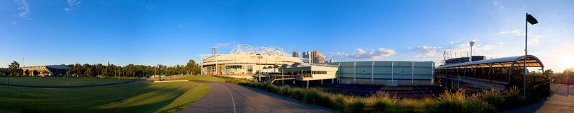 Melbourne sports precinct Royalty Free Stock Images