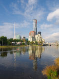 Melbourne in spring Stock Photography