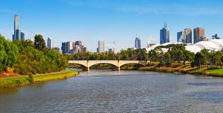 Melbourne stad arkivbilder