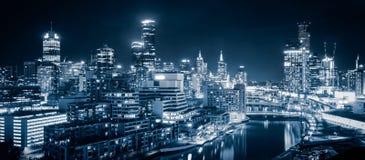 Melbourne stad Royaltyfri Bild