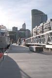 Melbourne stad från bryggan Royaltyfri Fotografi