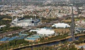 melbourne stadion Arkivbild