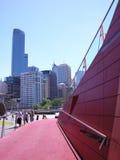 Melbourne stadsdetalj Arkivbild