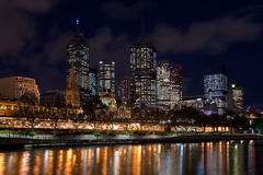 Melbourne-Stadt Stockfotografie