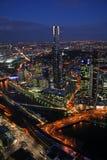 Melbourne-Stadt Stockfotos
