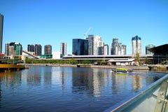 Melbourne-Stadt, Australien Stockbild
