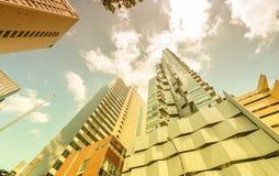 Melbourne-Stadt, eine der wohnlichsten Stadt in der Welt in VI lizenzfreie stockfotografie