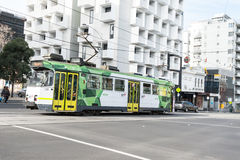 Melbourne-Stadt-Tram Stockfotos