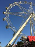 Melbourne Star. Is a giant observation wheel in Docklands, Melbourne Royalty Free Stock Photos