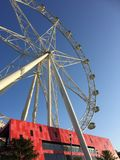 Melbourne Star. Is a giant observation wheel in Docklands, Melbourne Royalty Free Stock Photography