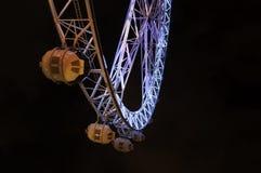 Melbourne Star Wheel at night Stock Photos