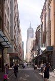 Melbourne-Straße Lizenzfreie Stockbilder