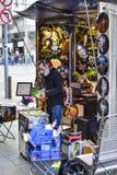 Melbourne-Straßenhändler Artist Stockbilder