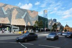 Melbourne - Straatscène Stock Fotografie