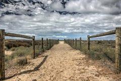 Melbourne strand Fotografering för Bildbyråer