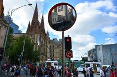 Melbourne - Street Scene Royalty Free Stock Image